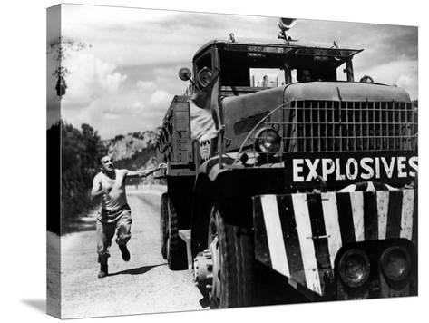 The Wages Of Fear, (aka Le Salaire De La Peur), Charles Vanel, Yves Montand, 1953--Stretched Canvas Print