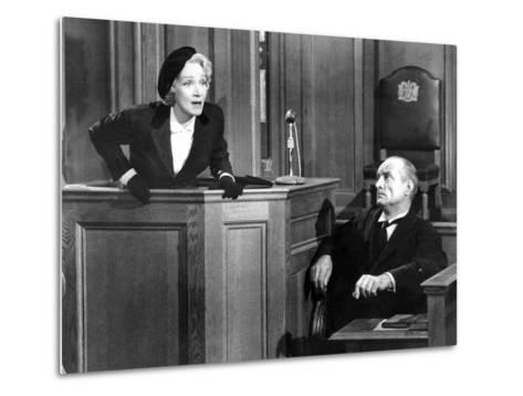 Witness For The Prosecution, Marlene Dietrich, 1957--Metal Print