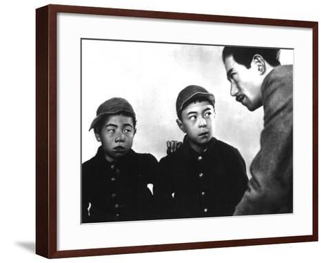 I Was Born, But..., (aka Umarete Wa Mita Keredo), 1932--Framed Art Print