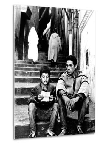 The Battle Of Algiers, Mohamed Ben Kassen, Brahim Haggiag, 1965--Metal Print