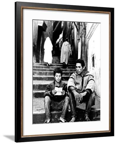 The Battle Of Algiers, Mohamed Ben Kassen, Brahim Haggiag, 1965--Framed Art Print