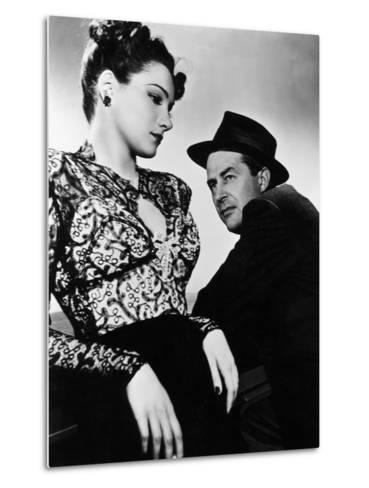 The Lost Weekend, Doris Dowling, Ray Milland, 1945--Metal Print