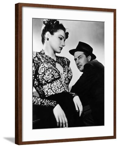 The Lost Weekend, Doris Dowling, Ray Milland, 1945--Framed Art Print