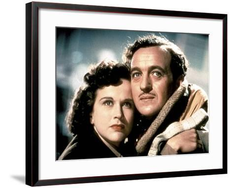 A Matter Of Life And Death, (AKA Stairway To Heaven), Kim Hunter, David Niven, 1946--Framed Art Print