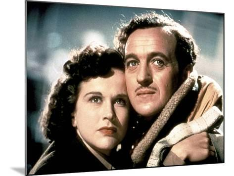 A Matter Of Life And Death, (AKA Stairway To Heaven), Kim Hunter, David Niven, 1946--Mounted Photo