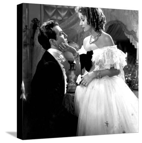 Camille, Robert Taylor, Greta Garbo, 1936--Stretched Canvas Print