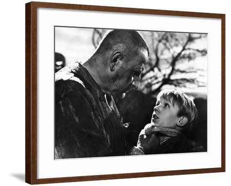 Great Expectations, Finlay Currie, Tony Wager, 1946--Framed Art Print