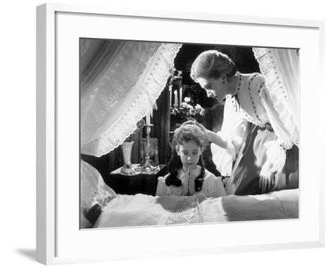 The Innocents, Pamela Franklin, Deborah Kerr, 1961--Framed Art Print