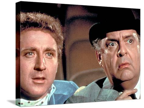 The Producers, Gene Wilder, Zero Mostel, 1968--Stretched Canvas Print