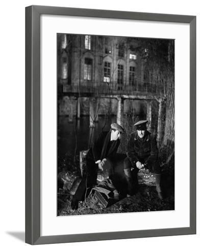 The Rules Of The Game, (aka La Regle Du Jeu), Julien Carette, Gaston Modot, 1939--Framed Art Print