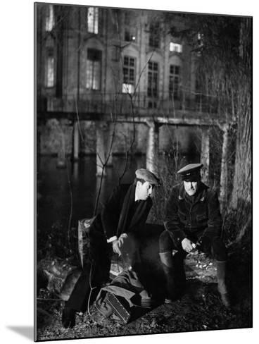 The Rules Of The Game, (aka La Regle Du Jeu), Julien Carette, Gaston Modot, 1939--Mounted Photo