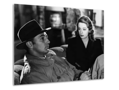 Out Of The Past, Robert Mitchum, Jane Greer, 1947--Metal Print