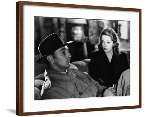Out Of The Past, Robert Mitchum, Jane Greer, 1947--Framed Art Print