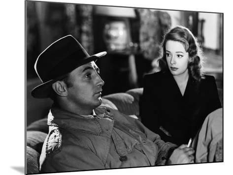 Out Of The Past, Robert Mitchum, Jane Greer, 1947--Mounted Photo