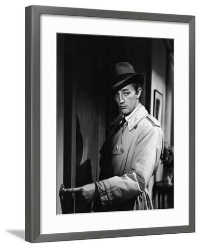 Out Of The Past, Robert Mitchum, 1947--Framed Art Print