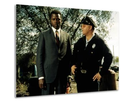 In The Heat Of The Night, Sidney Poitier, Rod Steiger, 1967--Metal Print