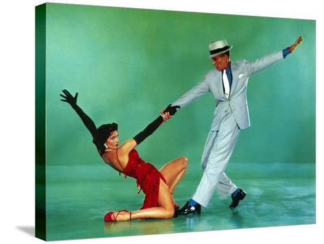 The Band Wagon, Cyd Charisse, Fred Astaire, 1953--Stretched Canvas Print
