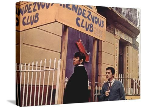 Bedazzled, Peter Cook, Dudley Moore, 1967--Stretched Canvas Print