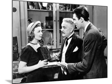 The Shop Around The Corner, Margaret Sullavan, Frank Morgan, James Stewart, 1940--Mounted Photo