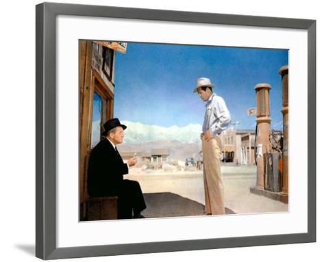 Bad Day At Black Rock, Spencer Tracy, Robert Ryan, 1955--Framed Art Print