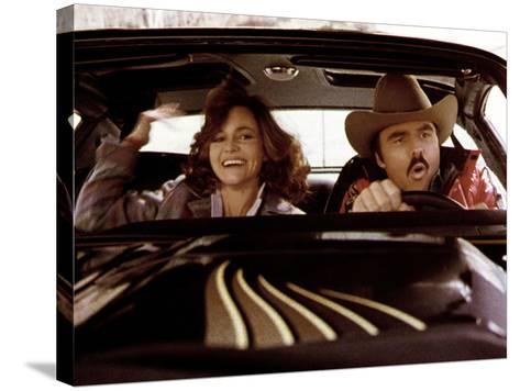 Smokey And The Bandit, Sally Field, Burt Reynolds, 1977--Stretched Canvas Print