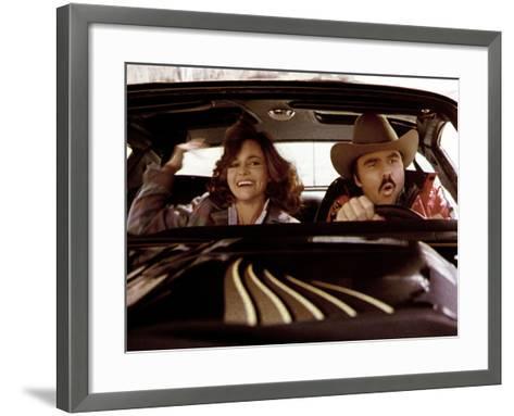 Smokey And The Bandit, Sally Field, Burt Reynolds, 1977--Framed Art Print