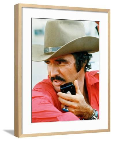 Smokey And The Bandit, Burt Reynolds, 1977--Framed Art Print