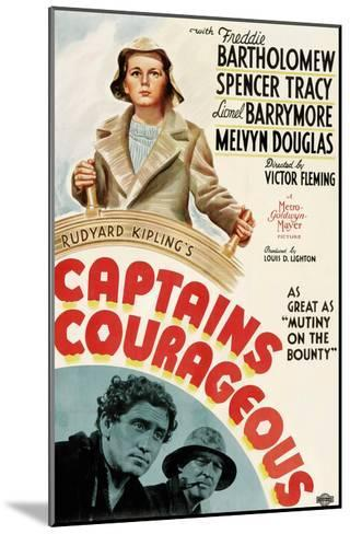 Captains Courageous, Freddie Bartholomew, Spencer Tracy, Lionel Barrymore, 1937--Mounted Photo