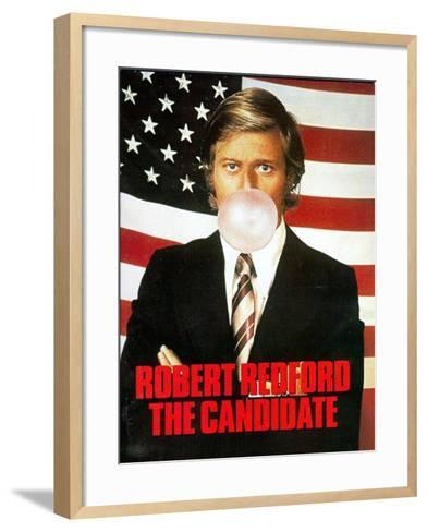 The Candidate, 1972, Robert Redford--Framed Art Print