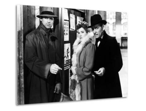 The Talk Of The Town, Cary Grant, Jean Arthur, Ronald Colman, 1942--Metal Print