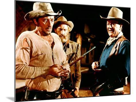 El Dorado, Robert Mitchum, Arthur Hunnicutt, John Wayne, 1967--Mounted Photo