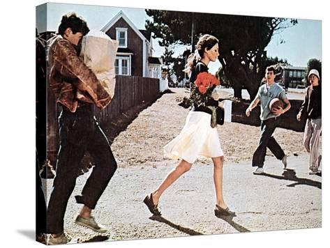 Summer Of '42, Gary Grimes, Jennifer O'Neill, Jerry Houser, Oliver Conant, 1971--Stretched Canvas Print