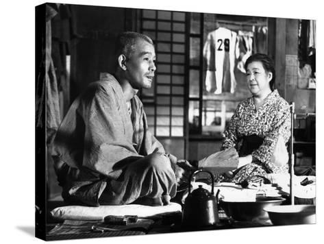 Tokyo Story, (AKA Tokyo Monogatari), Chishu Ryu, Chieko Higashiyama, 1953--Stretched Canvas Print