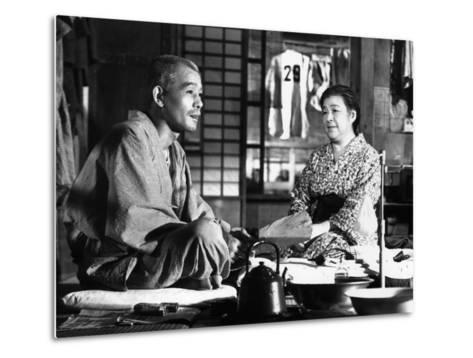 Tokyo Story, (AKA Tokyo Monogatari), Chishu Ryu, Chieko Higashiyama, 1953--Metal Print