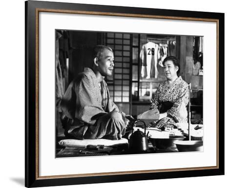 Tokyo Story, (AKA Tokyo Monogatari), Chishu Ryu, Chieko Higashiyama, 1953--Framed Art Print