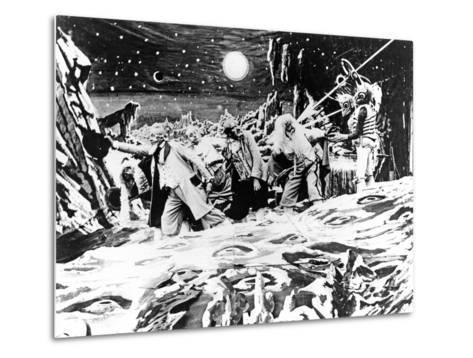 A Trip To The Moon, (AKA Le Voyage Dans La Lune), 1902--Metal Print