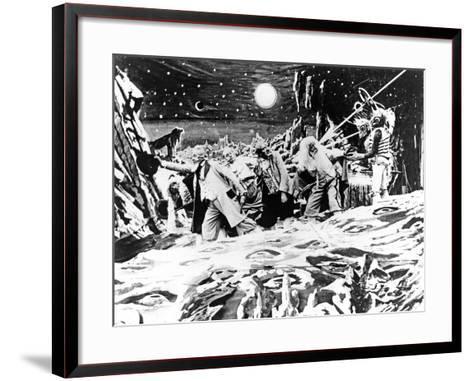 A Trip To The Moon, (AKA Le Voyage Dans La Lune), 1902--Framed Art Print