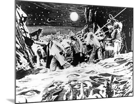 A Trip To The Moon, (AKA Le Voyage Dans La Lune), 1902--Mounted Photo