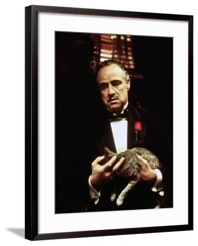 The Godfather, Marlon Brando, 1972--Framed Art Print