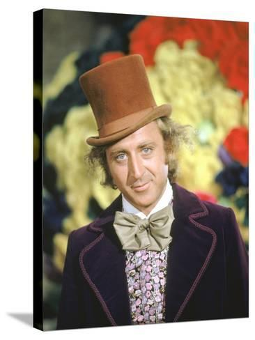 Willy Wonka And The Chocolate Factory, Gene Wilder, 1971--Stretched Canvas Print