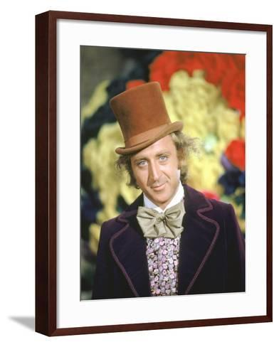 Willy Wonka And The Chocolate Factory, Gene Wilder, 1971--Framed Art Print