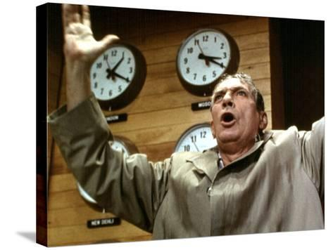 Network, Peter Finch, 1976--Stretched Canvas Print