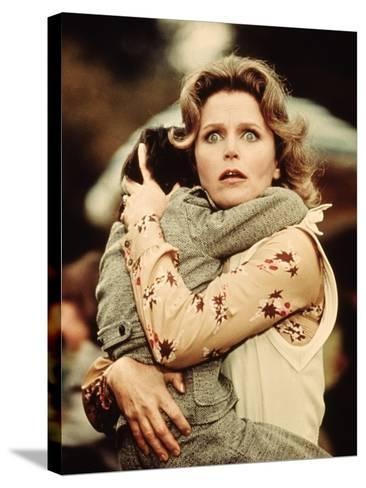 The Omen, Harvey Stephens, Lee Remick, 1976--Stretched Canvas Print