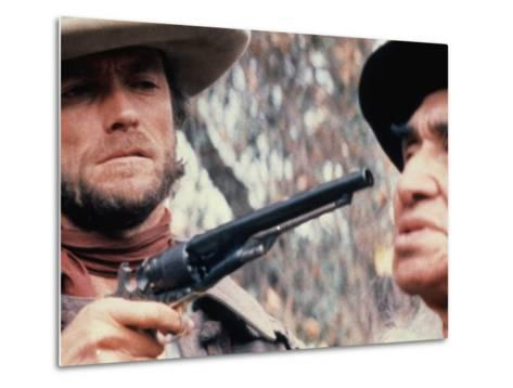The Outlaw Josey Wales, Clint Eastwood, Chief Dan George, 1976--Metal Print