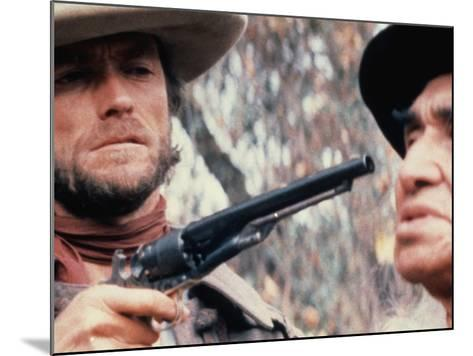 The Outlaw Josey Wales, Clint Eastwood, Chief Dan George, 1976--Mounted Photo