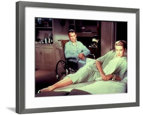 Rear Window, James Stewart, Grace Kelly, 1954--Framed Art Print