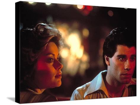 Saturday Night Fever, Donna Pescow, John Travolta, 1977--Stretched Canvas Print
