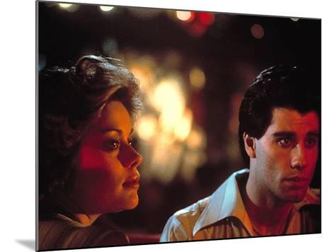 Saturday Night Fever, Donna Pescow, John Travolta, 1977--Mounted Photo