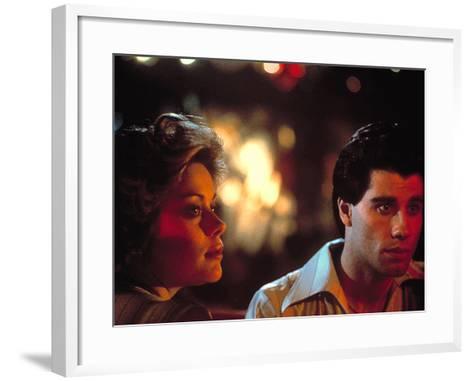 Saturday Night Fever, Donna Pescow, John Travolta, 1977--Framed Art Print