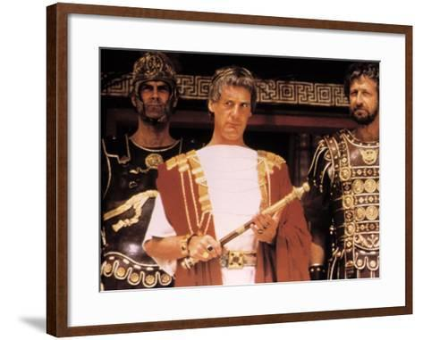 Life of Brian, John Cleese, Michael Palin, Graham Chapman (Monty Python), 1979--Framed Art Print